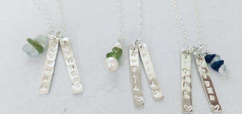 Personalised Pendants – Jewellery Taster Workshops with Libby Jubb