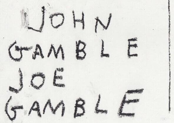 John Gamble, Joe Gamble